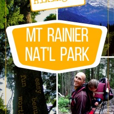 Hiking in Mt Rainier National Park is fun, easy and a beautiful experience. Check out these simple day hikes, with or without kids! 2traveldads.com