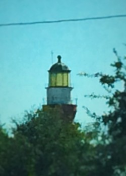 St Johns River Lighthouse from the St Johns River Ferry