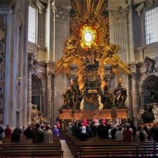 Interior of St Peters from Lisa Truemper Scott 2