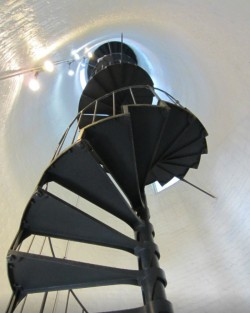 Key West Lighthouse Spiral Staircase Carmens Luxury Travel