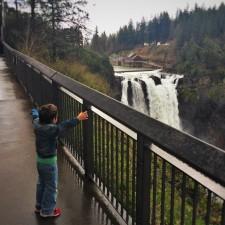 LittleMan and Snoqualmie Falls Washington 3