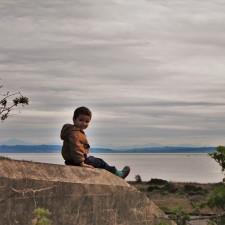 LittleMan on Bunker at Point Wilson Fort Worden Port Townsend 1