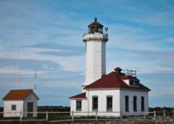 Point Wilson Lighthouse Fort Worden Port Townsend 3