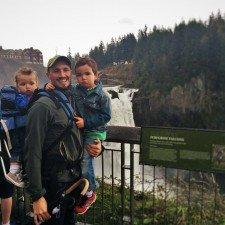 Rob Taylor and Dudes at Snoqualmie Falls 3