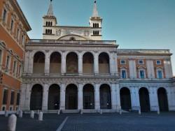 San Giovanni Laterano courtyard Rome from WyldFamilyTravel 2traveldads.com