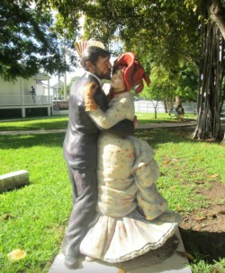 Sculptures at Key West Lighthouse Carmens Luxury Travel