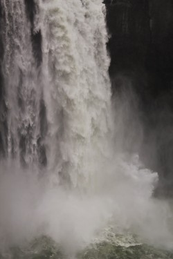 Snoqualmie Falls Washington in Winter 6