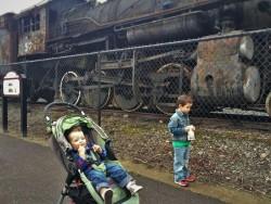 Taylor Kids Railroad Graveyard Snoqualmie 2