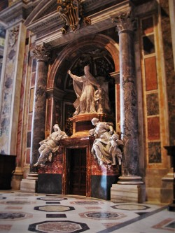 Tomb in St Peters from Lisa Truemper Scott 1