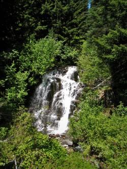 Van Trump Creek in Mt Rainier National Park 2traveldads.com