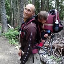 hiking kidpack Mt Rainier 2traveldads.com