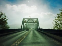 Agate Passage Bridge to Bainbridge Island in the Fog 1