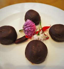 Chololate Truffles at Restaurant 301 at Carter House Inn Eureka