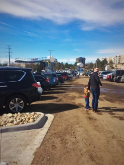 Chris Taylor in Overflow Parking at Childrens Museum of Denver 1