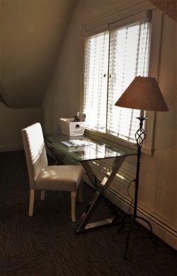 Desk area at Carter House Inn Eureka