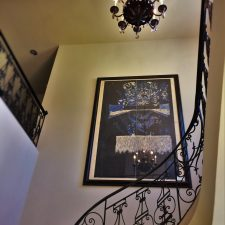 Inside Mansion at Bloedel Reserve Bainbridge Island 1