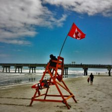 Lifegaurd at Jacksonville Beach Florida 1