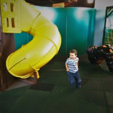 LittleMan and Indoor Playground at the Butterfly Pavilion Denver Colorado 1