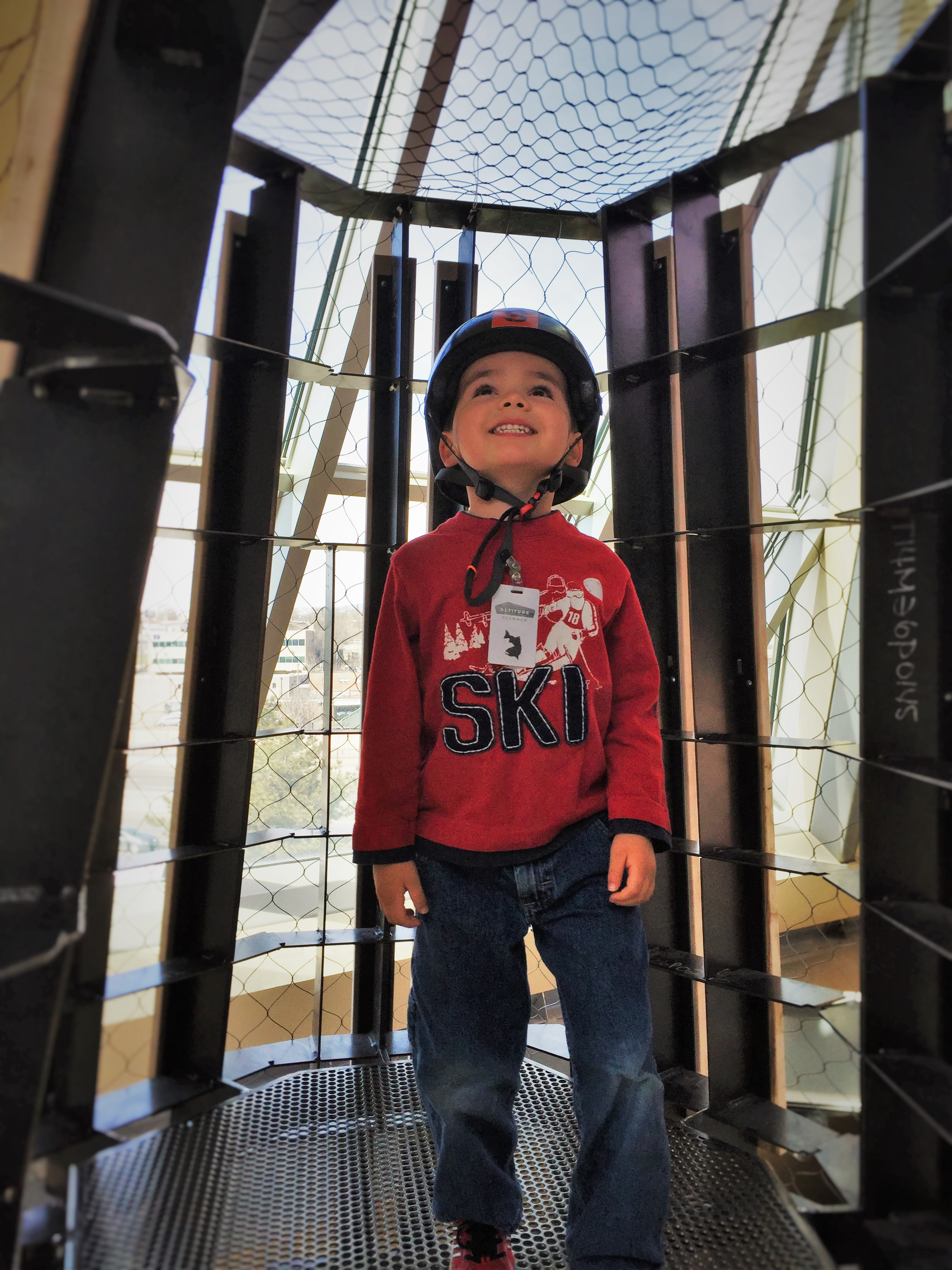 LittleMan at Top of Altitude at Childrens Museum of Denver 2