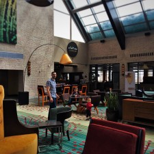 Lobby at Inverness Hotel Denver Colorado 3