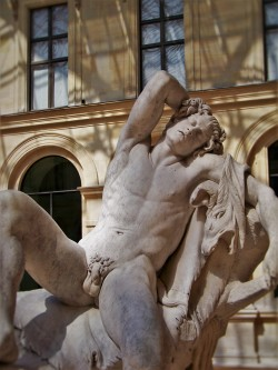 Lounging Nude Nymph in Louvre 1