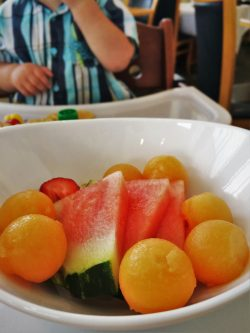 Melon at Restaurant 301 at Carter House Inn Eureka 1