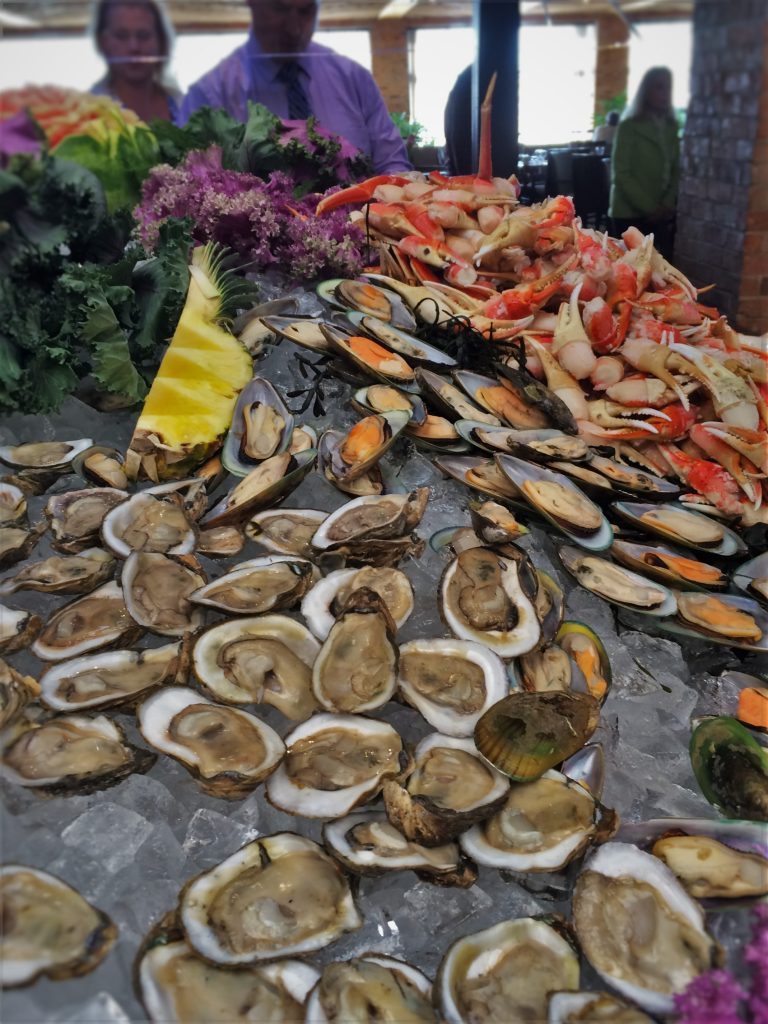 Tremendous Seafood Buffet At Easter Brunch In Garden Terrace At Interior Design Ideas Gentotthenellocom