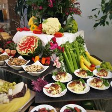 Seared Tuna and Small Plates at Easter Brunch at Garden Terrace at Inverness Hotel Denver Colorado 1