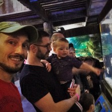 Taylor Family in Wharf Themed area at Denver Downtown Aquarium 1