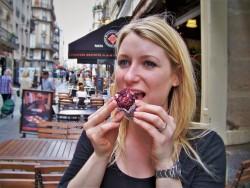 Taylor Friend with Chevre en Robe in Montmartre Paris 1