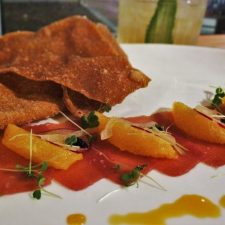 Tuna Crudo at Il Desco Avondale Jacksonville Florida 1