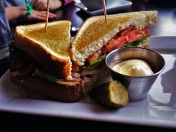 Turkey Club at Fireside Lounge at Inverness Hotel Denver Colorado 1