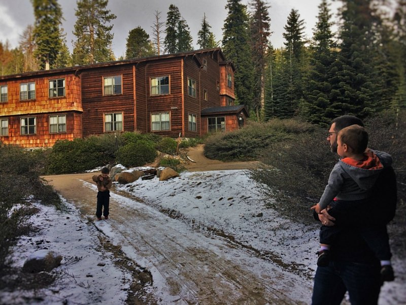 The Wuksachi Lodge at Sequoia National Park