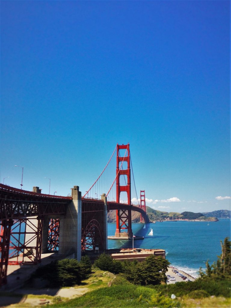 East Side of Golden Gate Bridge from Welcome Center GGNRA 1