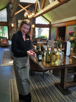 Wine Reception at Bodega Bay Lodge 1