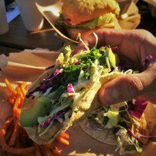 Fish Tacos at Fishertarian Bodega Bay
