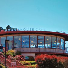 Round House Cafe at Golden Gate Bridge San Francisco