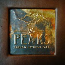 Menu cover at Peaks Dining Room at Wuksachi Lodge in Sequoia National Park 1