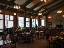 Peaks Dining Room at Wuksachi Lodge in Sequoia National Park 3