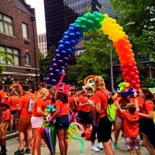 Seattle Pride in Downtown Seattle