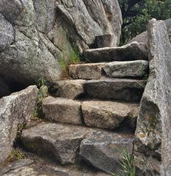 Stone Staircase at Hospital Rock in Sequoia National Park 2traveldads.com (1)