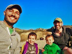 Taylor Family at Bodega Head Sonoma Coast State Beach California 2traveldads.com