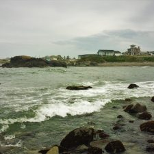 Crescent City from Beach