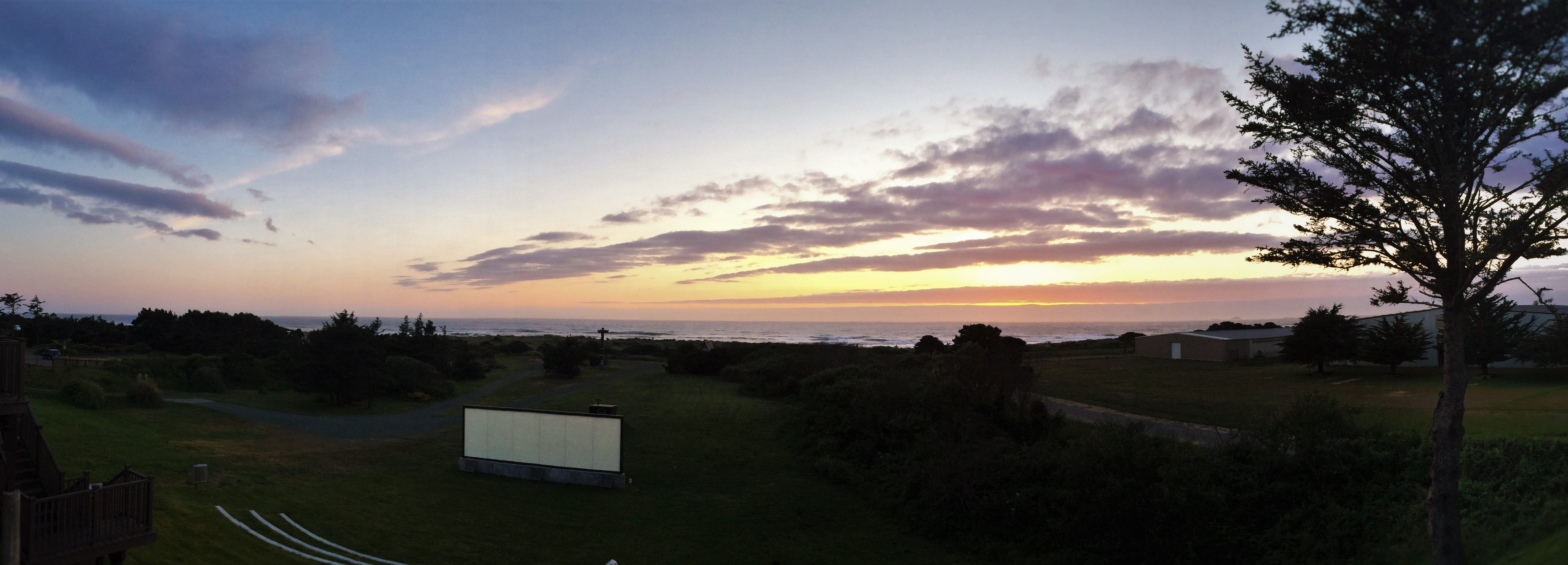 Pacific Reef Hotel sunset header