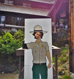LittleMan doing Junior Ranger Program at Oregon Caves National Monument