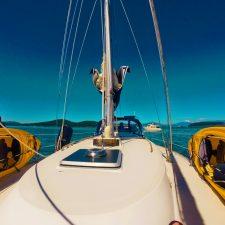 Sailing on Fidalgo Bay Anacortes