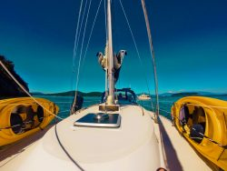 Sailing on Fidalgo Bay Anacortes