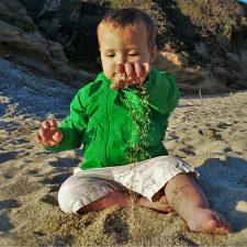 Tiny Man at Bodega Head Bodega Bay 2