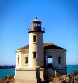Coquille River Lighthouse Southern Oregon Coast