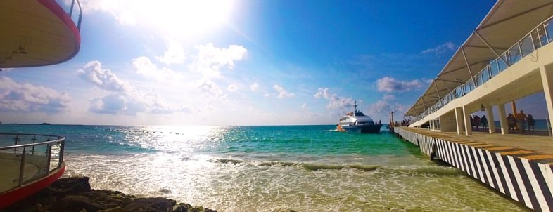 Cozumel ferry in Playa del Carmen 1